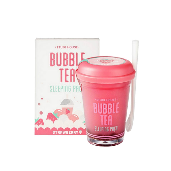 [Etude house] Bubble Tea Sleeping Pack Strawberry 100g