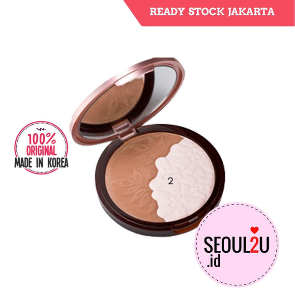 [Etude house] Face Designing V-Line Slim Maker #2 Sun Pink / Cherry Brown