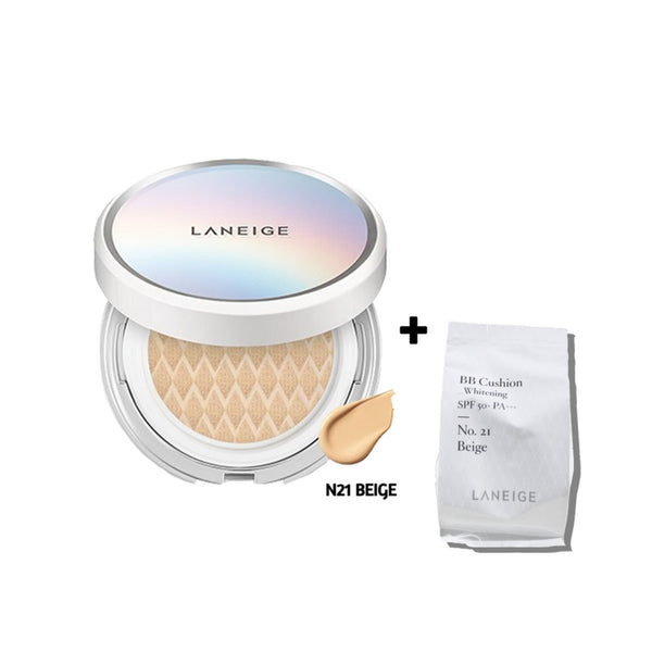 [Laneige] BB Cushion Whitening N21