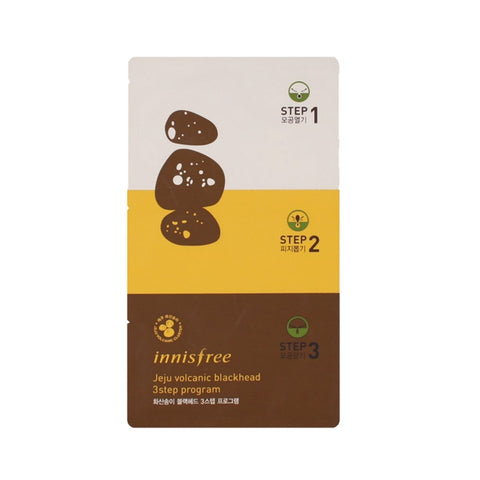 [Innisfree] Jeju Volcanic Blackhead 3 Step Sheet