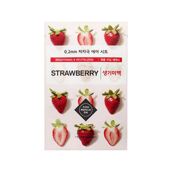 Etude House 0.2mm Therapy Air Mask #Strawberry