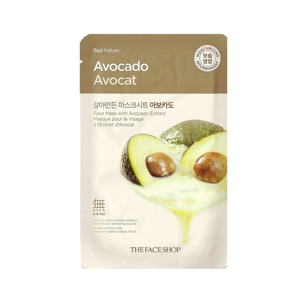 [The face shop] Natural Mask - Avocado