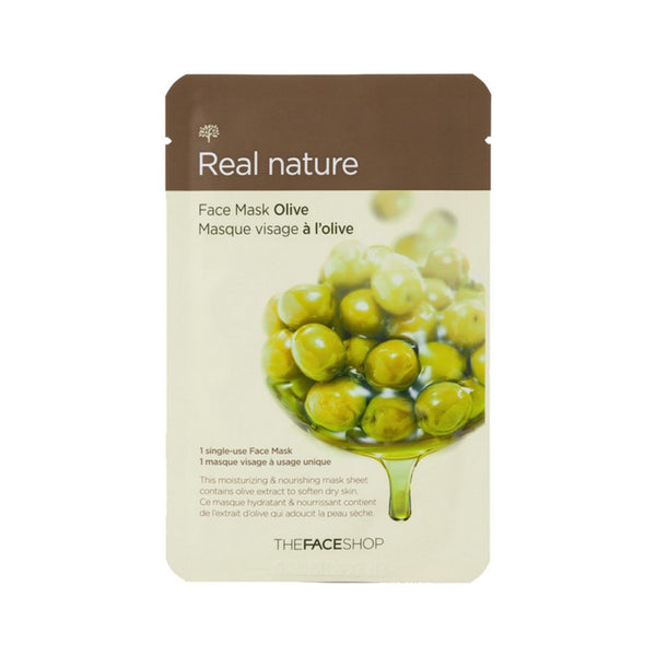 [The face shop] Natural Mask - Olive 20ml