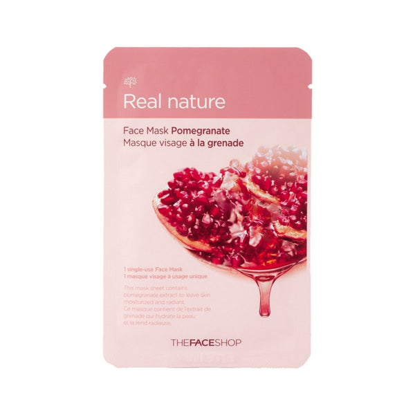 [The face shop] Natural Mask - Pomegranate 20ml