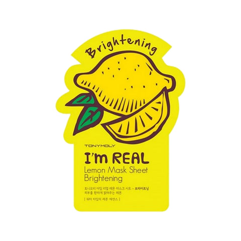 [Tonymoly] I`m REAL Lemon Mask Sheet Brightening