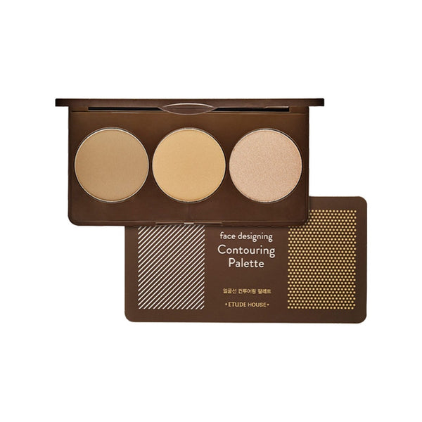 [Etude House] Face Designing Contouring Palette 2 Pink Brown