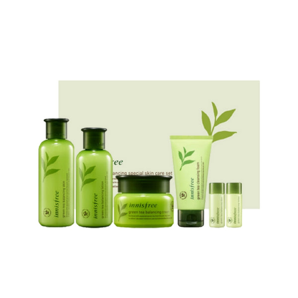 [Innisfree] Greentea Balancing Special Skin Care Set