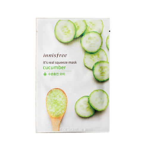 [Innisfree] It's Real Squeeze Mask Cucumber 20ml