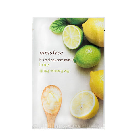 [Innisfree] It's Real Squeeze Mask Lime 20ml