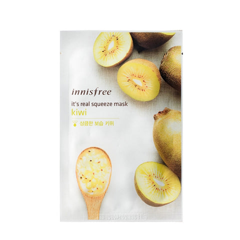 [Innisfree] It's Real Squeeze Mask Kiwi 20ml