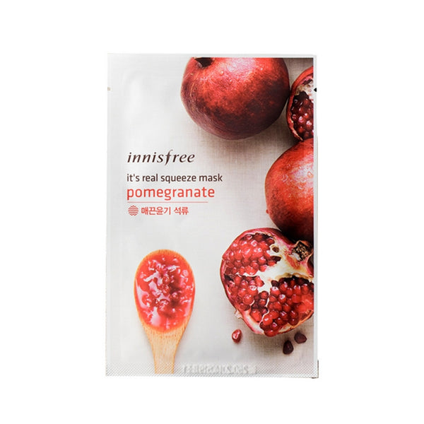 [Innisfree] It's Real Squeeze Mask Pomegranate 20ml