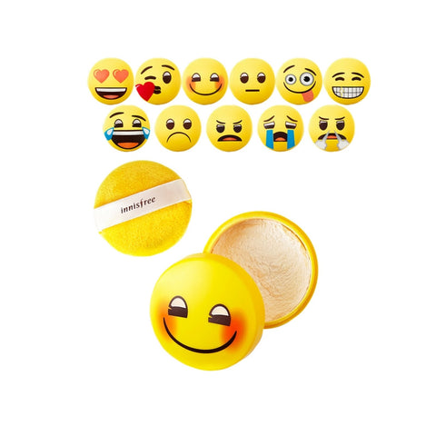 [Innisfree] No-sebum Mineral Powder Emoji Edition