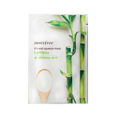 [Innisfree] It's Real Squeeze Mask Bamboo 20ml