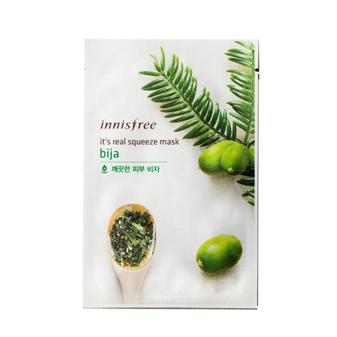 [Innisfree] It's Real Squeeze Mask Bija 20ml