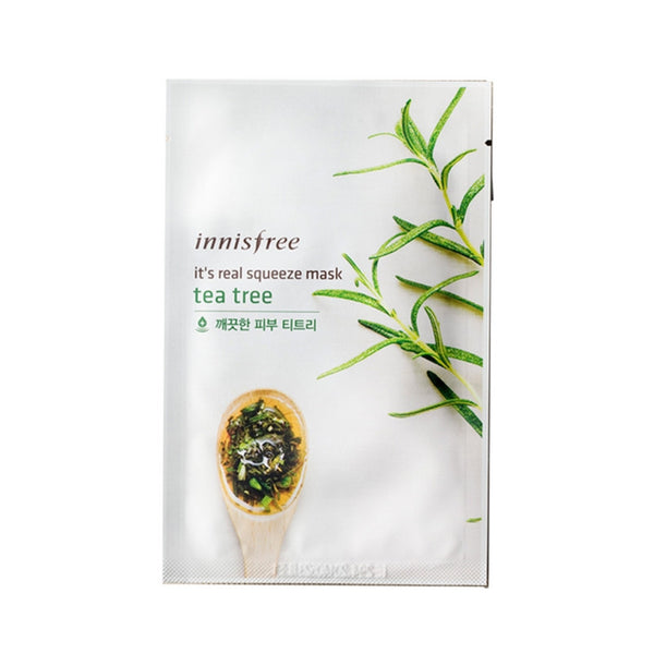 [Innisfree] It's Real Squeeze Mask Teatree 20ml