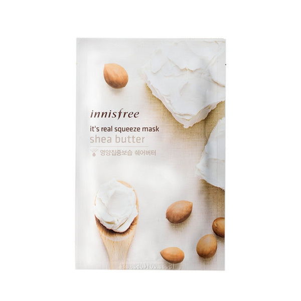 [Innisfree] It's Real Squeeze Mask Sheabutter 20ml