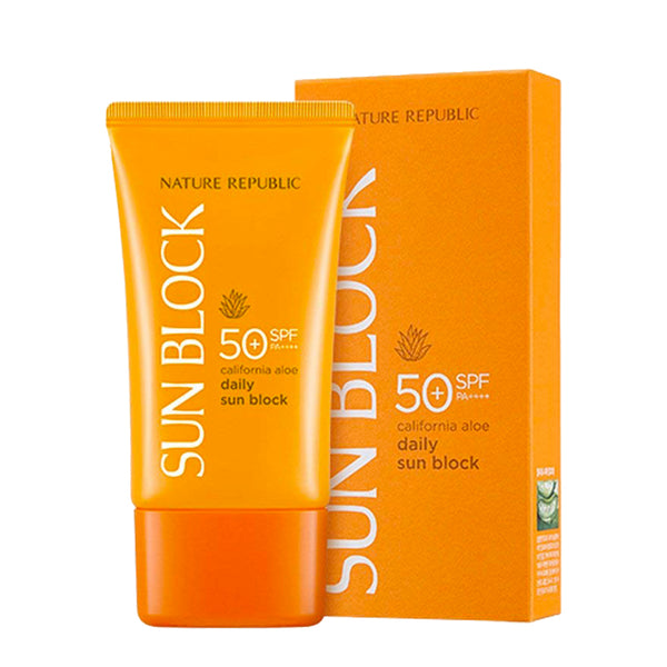 [Nature Republic] Califonia Aloe Daily Sunblock 50SPF pa+++
