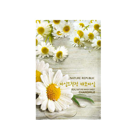 Nature Republic Real Nature Mask Sheet Chamomile
