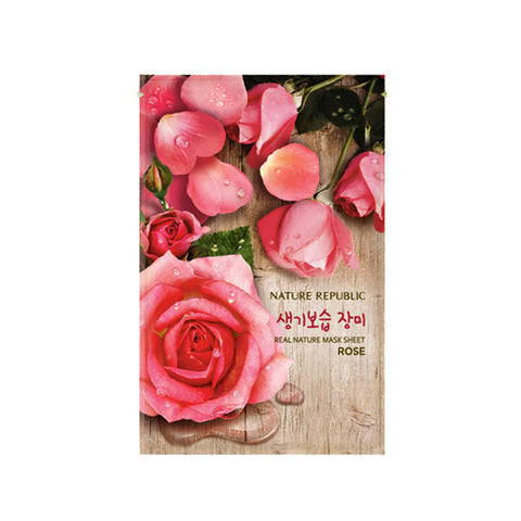 Nature Republic Real Nature Mask Sheet Rose