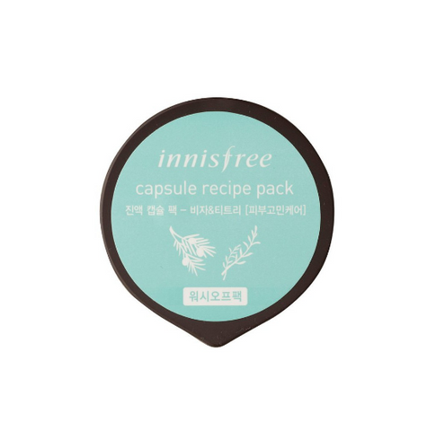 [Innisfree] Capsule Recipe pack Bija and Tea tree(2016) 10ml
