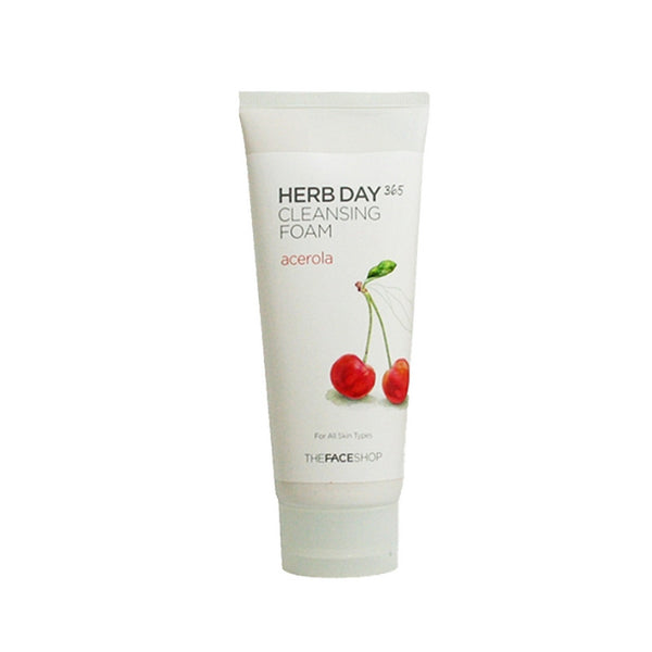 [The face shop] Herb365 Cleansing Foam Acerola 170ml