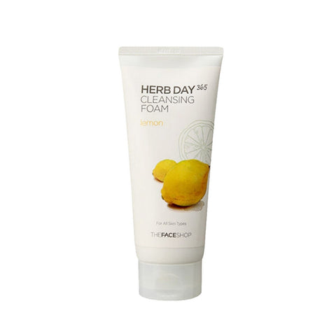 [The face shop] Herb365 Cleansing Foam Lemon 170ml