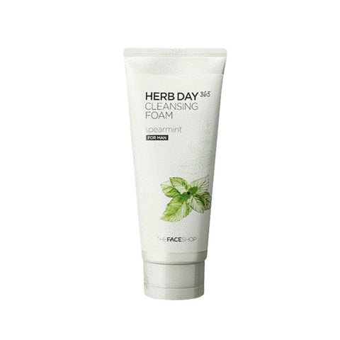 [The face shop] Herb365 Cleansing Foam Spearmint(for man) 170ml