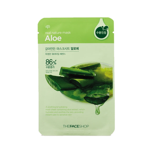 [The face shop] Natural Mask- Aloe vera 20ml