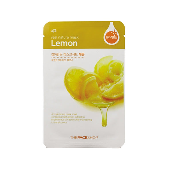 [The face shop] Natural Mask- Lemon 20ml