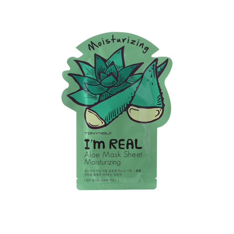 [Tonymoly] I`m REAL Aloe Mask Sheet Moisturizing