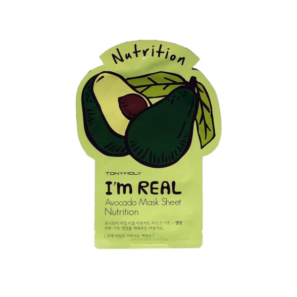 [Tonymoly] I`m REAL Avocado Mask Sheet Nutrition