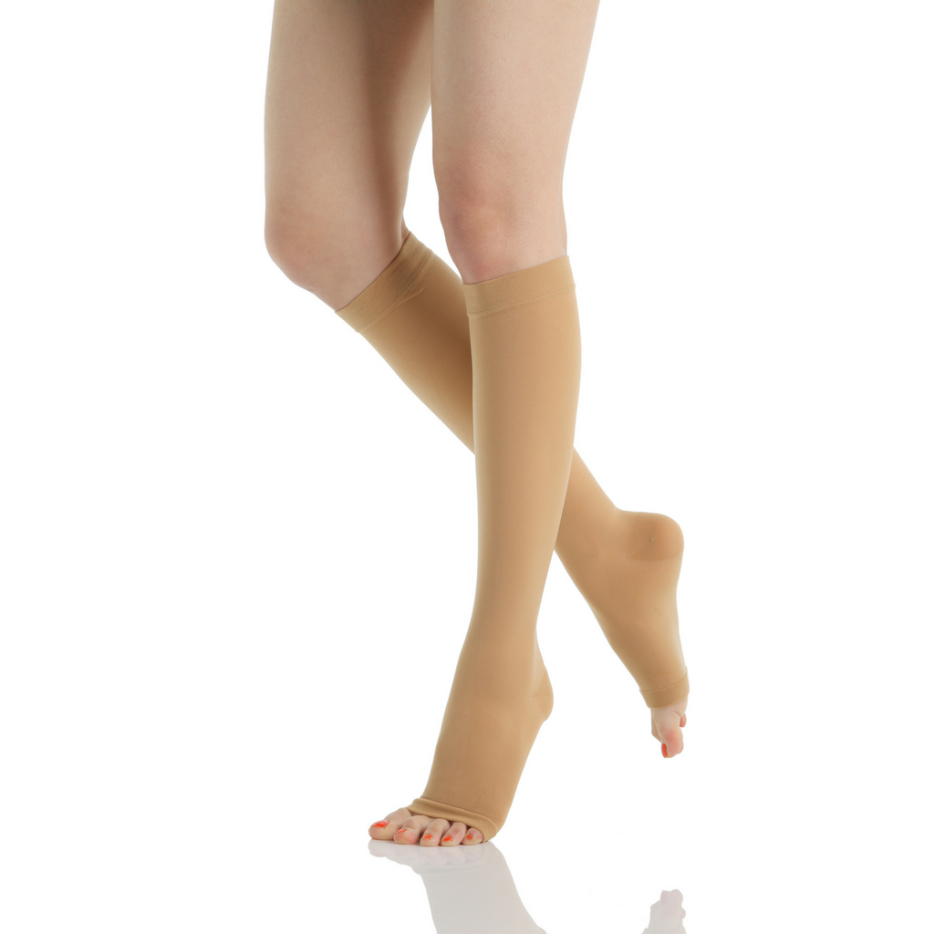compression stockings 15 20 mmhg knee high evin limb specialist