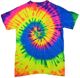 Tie Dye Shirts (4 color options)