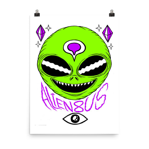 Third Eye Alien Poster