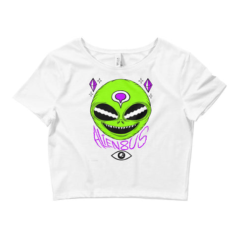 Third Eye Alien Crop Top