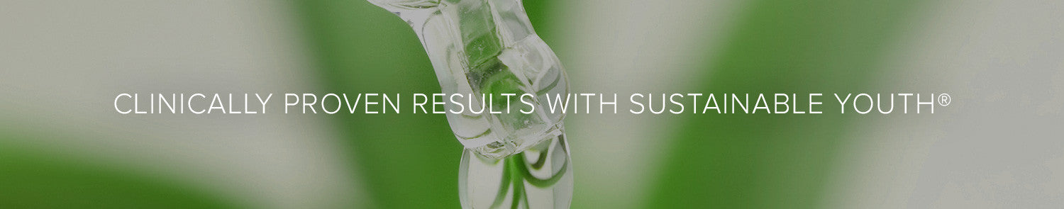 Clinically proven results with Sustainable Youth®