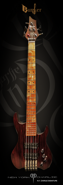 Bass Guitar NYCharlie signature Series