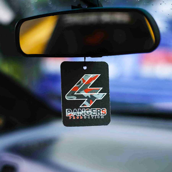 Red Camo Air Freshener - Black Ice