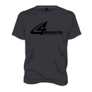 4BP Logo T-Shirt - Charcoal