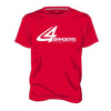 4BP Logo T-Shirt - Red