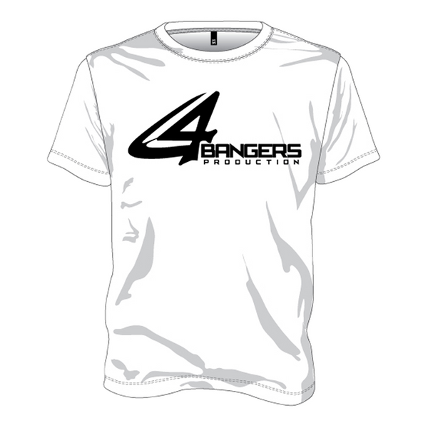 4BP Logo T-Shirt - White