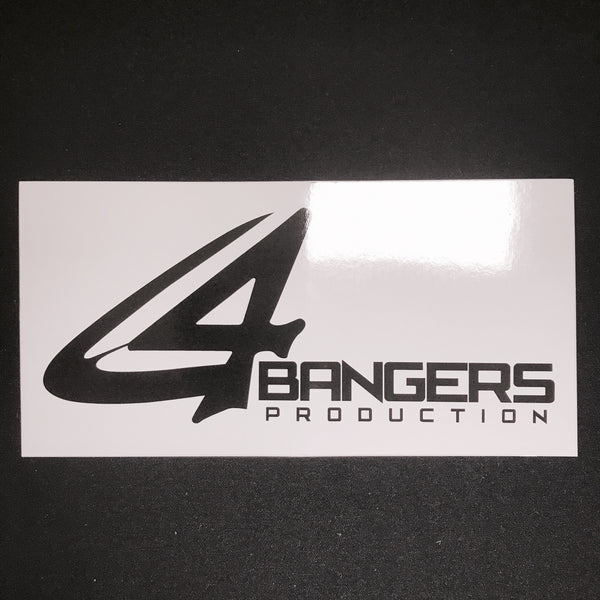 4BP Rectangle SLAP STICKERS