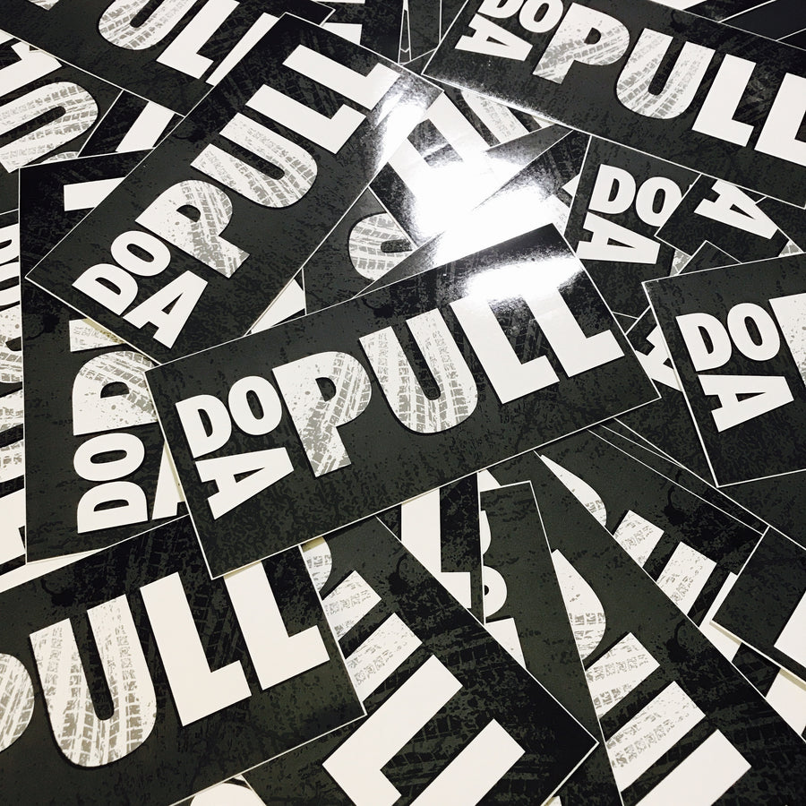 DO A PULL - SLAP STICKERS