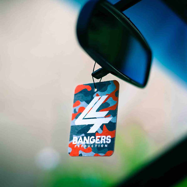 Full Red Camo Air Freshener - Strawberry