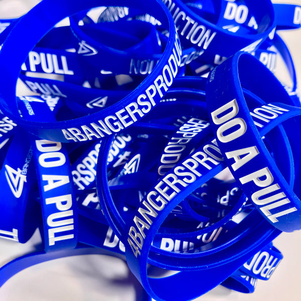 4BP x DO A PULL Wristband - Blue