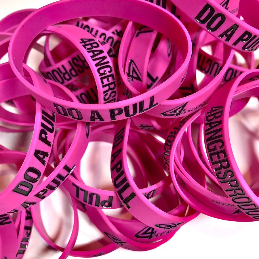 4BP x DO A PULL Wristband - Pink