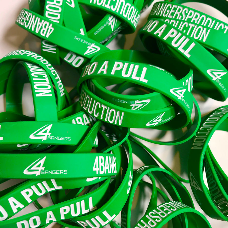 4BP x DO A PULL Wristband - Green