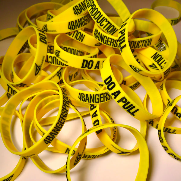 4BP x DO A PULL Wristband - Yellow