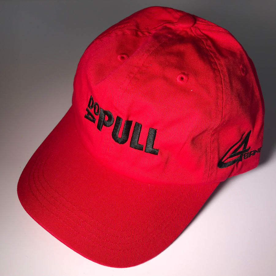 DO A PULL Hat - Red