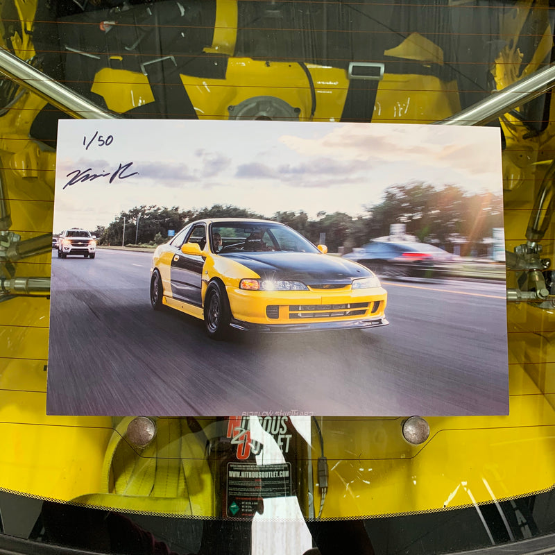 Limited Edition Nitrous Integra Poster - Roller (Only 50 made)